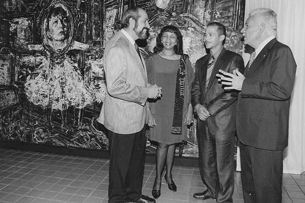 Exhibición Muñoz y las Artes
